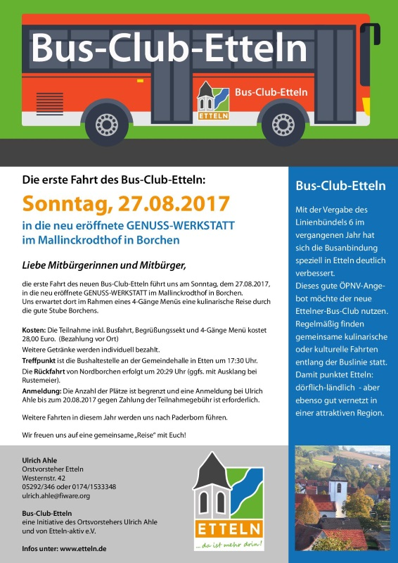 Bus Club Etteln 08 2017 n